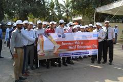 Awareness walk on World Osteoporosis day