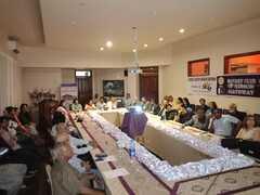 Awareness Program on Care of Senior Citizens by Dr. Faridah Amin at Rotary Club