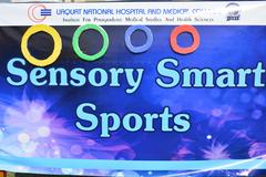 Sensory sports day - Occupational therapy unit