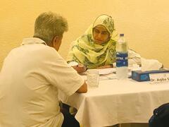 Free Medical Camp at Karachi Gymkhana
