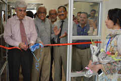 Inaugration of ER & OT Waiting Area