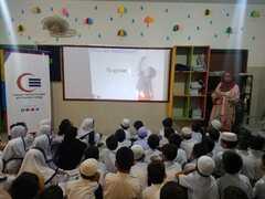 Awareness Session on Nutrition & Hygiene at Ayesha Academy campus I, II & III, Shah Faisal Colony