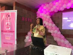 Awareness Session on Breast Cancer by Dr. Rufina Soomro at Gul Ahmed Factory