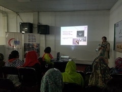 Breast Cancer Awareness Session by Dr. Naila Zahid at Artistic Milliners