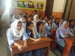 Awareness session on Nutrition & Hygiene at New Generation School Campus I & II, FB Area