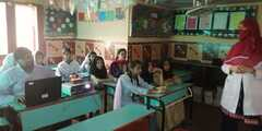 Awareness session on Nutrition & Hygiene at New Generation School Campus III, FB Area