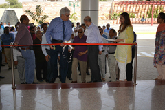 Inauguration of New Gate 2, New Entry Lobby & Reception of Old OPD Block and Pedestrian Plaza