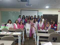 Breast Cancer Awareness Session by Dr. Afsheen Javed at National Bank of Pakistan