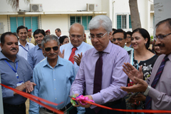 Inauguration of Staff Quarters