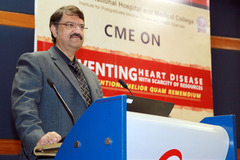 CME on Preventing Heart Diseases with Scarcity of Resources