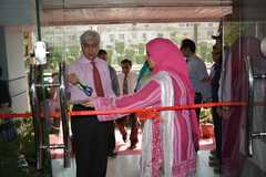 Inaugration of Naseerabad, FB Area outreach centre