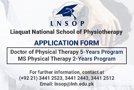 MS Physiotherapy Admission