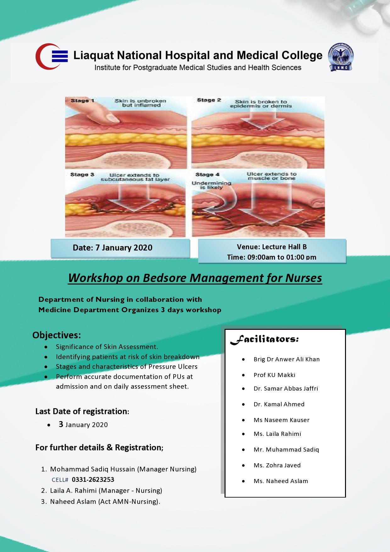 Workshop on Bedsore Management for Nurses