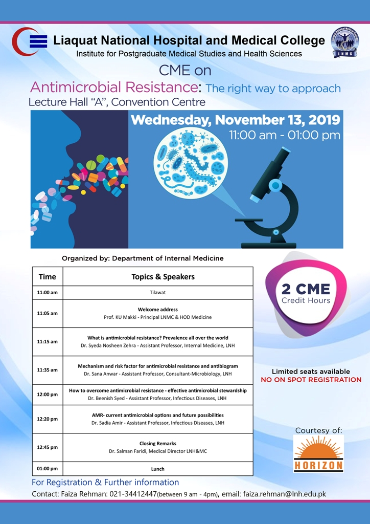 CME Antimicrobial Resistance