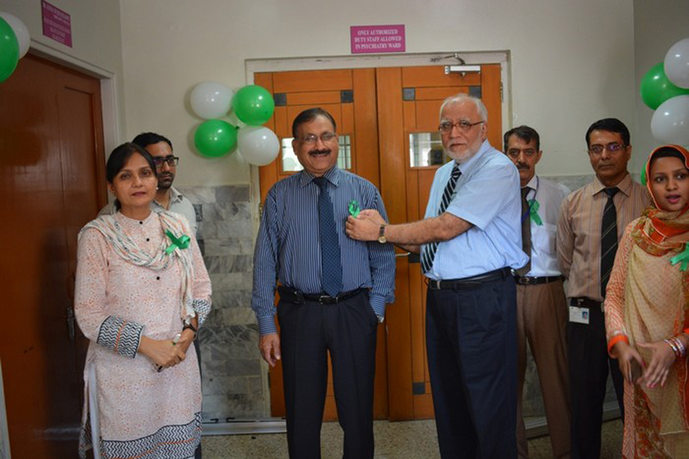 Psychiatry Department - Cake Cutting Ceremony on World Mental Health Day 17 OCT 2016