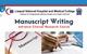 Manuscript Writing- Advance Clinical Research Course