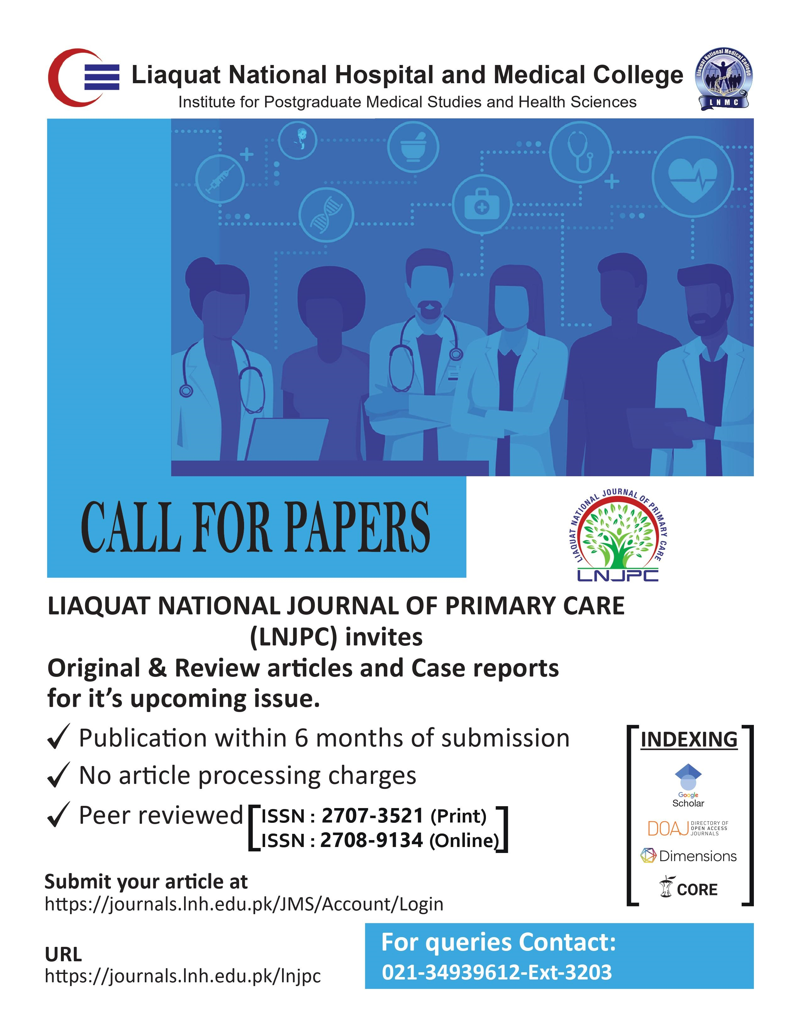 Liaquat National Journal of Primary Care